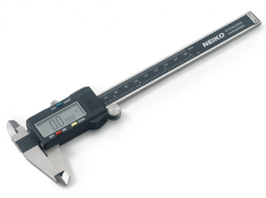 Digital scale caliper