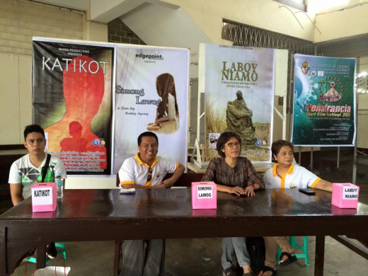 Photo Source: 1st Peñafrancia Short Film Festival (Facebook Page)