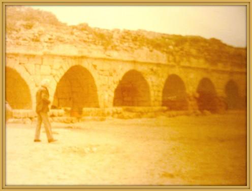 Herod's aqueduct in Caesarea
