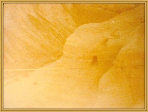 Caves of Wadi-Qumran where the Dead Sea Scrolls were found