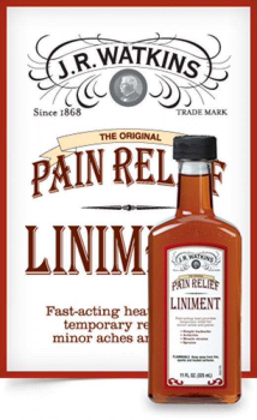 JR Watkins tinkered around in his own kitchen and created his signature red liniment product, still in demand today.