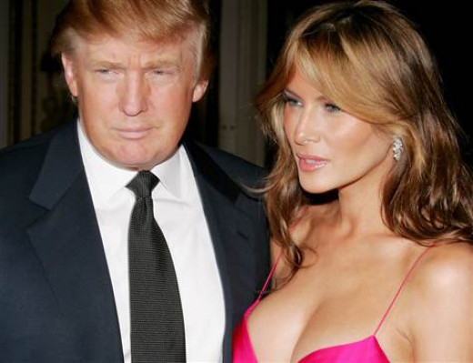Melania Trump and Donald