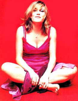 Cerys Matthews former singer with Catatonia(8th evicted