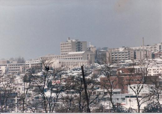 Osan, Korea 1986.