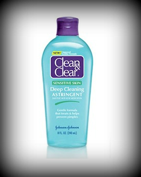 Clean & Clear Deep Astringent (Sensitive Skin)