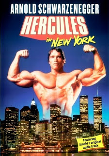 """DVD cover for """"Hercules In New York"""""""