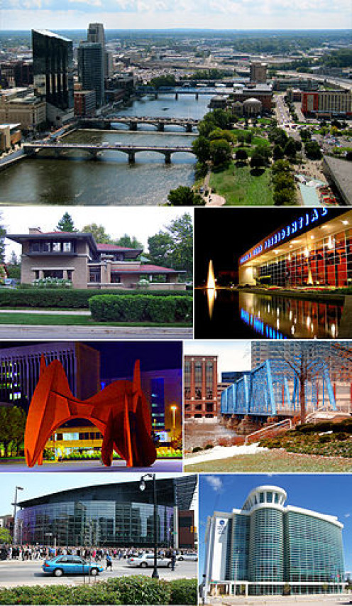 Numerous pics of Grand Rapids Michigan
