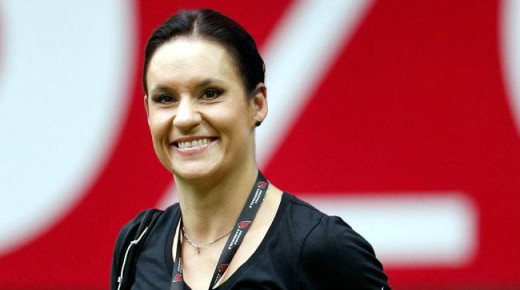 Jen Welterman, linebackers coach, Arizona Cardinals.