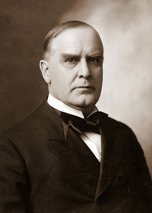 President McKinley looks a little like either animal.