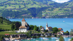 Located in the Heart of Europe, Switzerland has a natural beauty in picture postcard settings.