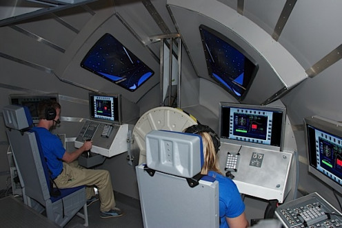 Simulator At United States Space Camp