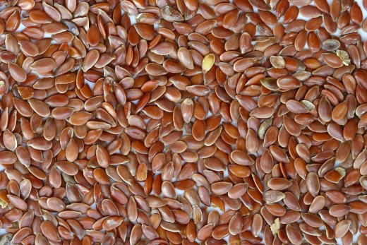 Flax seed. By Sanjay Acharya (Own work) [CC BY-SA 3.0 (http://creativecommons.org/licenses/by-sa/3.0) or GFDL (http://www.gnu.org/copyleft/fdl.html)], via Wikimedia Commons
