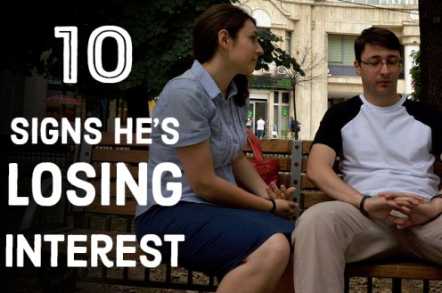 10 Signs Your Guy Is Losing Interest in You