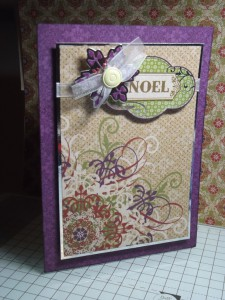 Card made using HOTP supplies