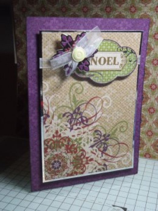 Card made using HOTP supplies