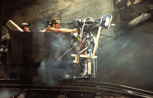 The film's legendary mine-cart sequence is a highlight of the entire trilogy