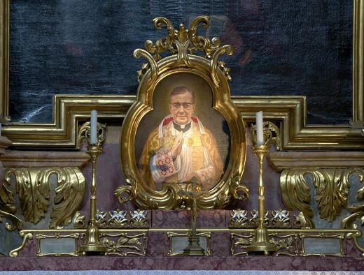 An image of Opus Dei founder, St. Josemaria Escriva, found in Vienna, Austria.