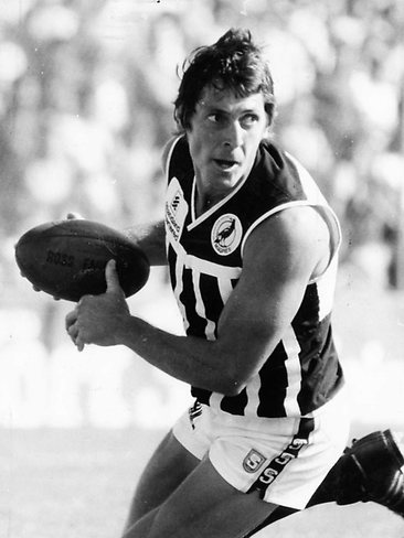 South Australia's most decorated football player with four Magarey Medals and a long list of other achievements.