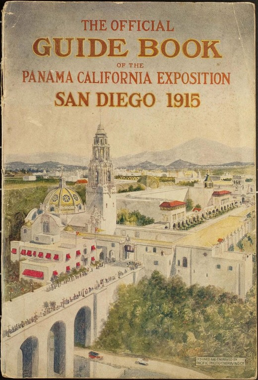 The Fair in San Diego in 1915 included military ships such as the unveiling of the North Dakota.