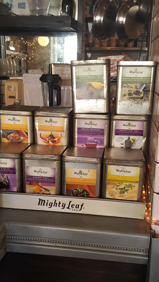 A variety of teas, to sooth