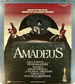 a movie review of amadeus Movie review: amadeus (1984) one of the grandest and most lavish movies ever created, amadeus is a riveting story of artistic intrigue set in the suddenly captivating world of classical music the movie is told in flashback, with an old antonio salieri (f murray abrham) in a mental hospital recounting his tale to a visiting priest.