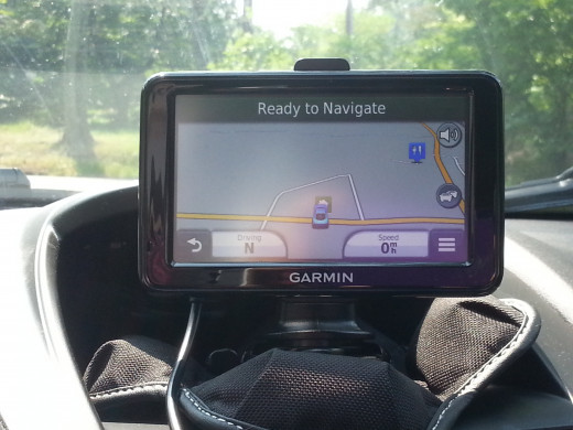 Where would I be with my GPS?