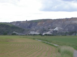 Bluestone quarry, Givet, Ardennes department, France