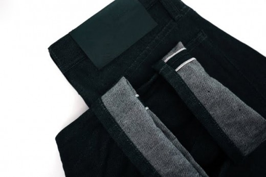 These jeans are infused with stainless steel. If you wear these to the airport the metal detector will go off, you've been warned. These jeans are said to give you the best fit over time because the metal allows the jeans to shape to your body.