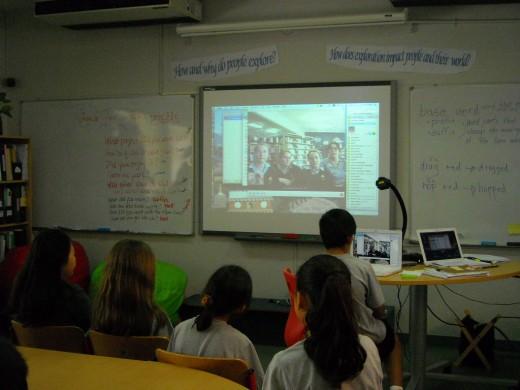 Flat Classroom Skype
