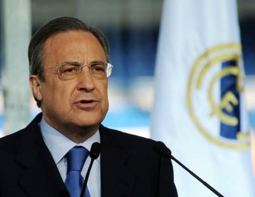 President of Real Madrid - Florentino Perez.