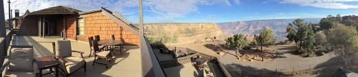 El Tovar Grand Canyon panoramic