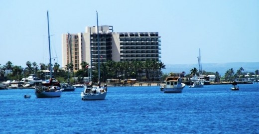 A section of the waterfront anchorage in La Paz... a little of everything for visiting cruisers