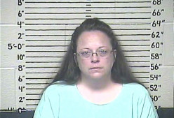 One Lone Traditional Christian Woman - Kim Davis - Against President Obama And His National Law Of Sodomy....