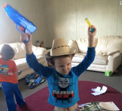 Yee-Haw! Country Boy Toddler Cowboy Boots