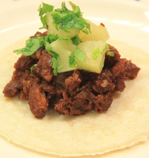 Very special Taco al Pastor - Pork and Pineapple Recipe