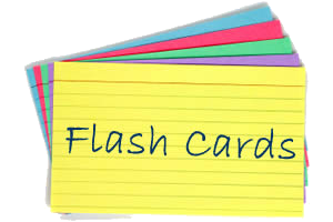 Use flashcards with words from the song for EFL music game