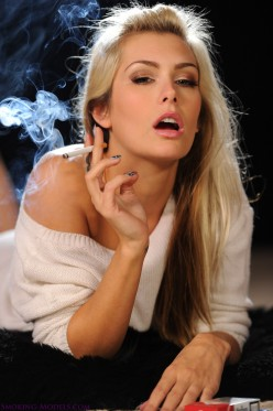 Beautiful Women Smoking: Are Cigarettes an Exotic Turn-On or Disgusting Habit?