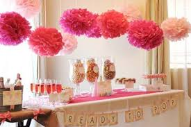 Pink themed baby showers are great if the mother-to-be knows she is having a girl
