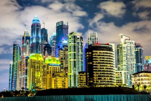 The growth in economy has increased property prices in UAE.
