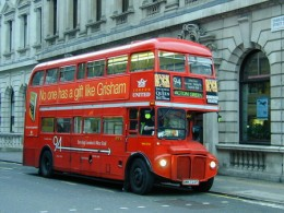The London Red Double Decker Bus