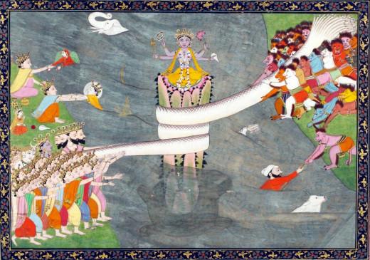 Samudra Manthan - Kumbh Mela History