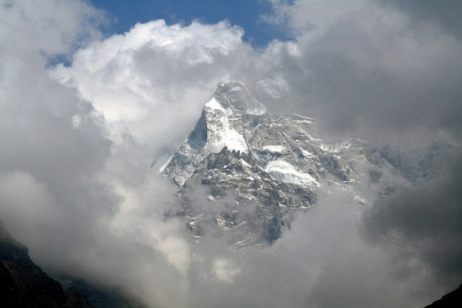 A stunning capture of Mount Everest