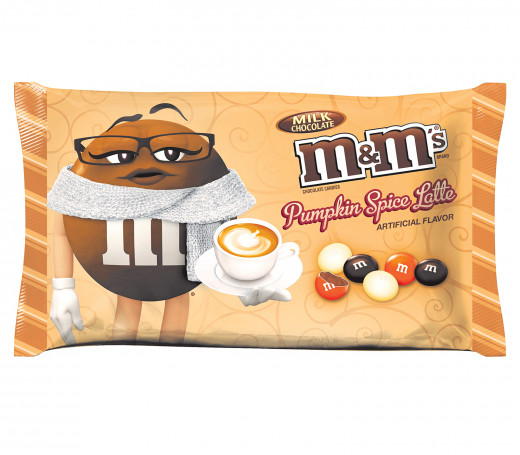Pumpkin spice latte m&m's