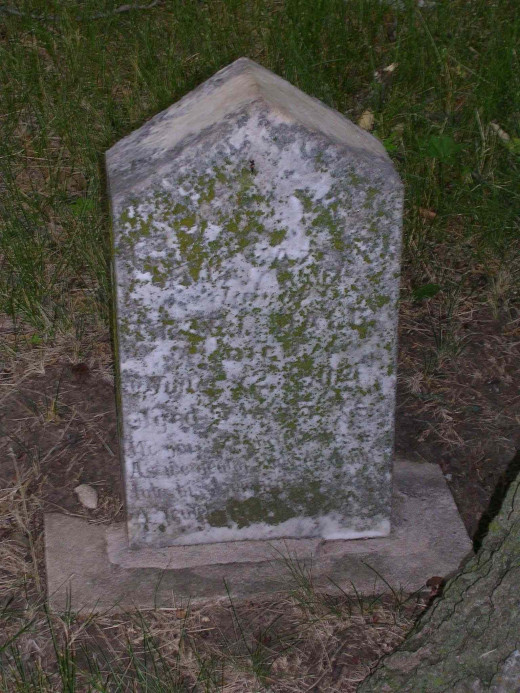 Headstone of Hazel Hale, Valley View Cemetery
