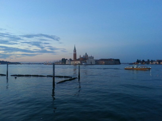 Island off Venice, Italy which will be submerged underwater in time to come as water levels rise if we do not change the way we live.