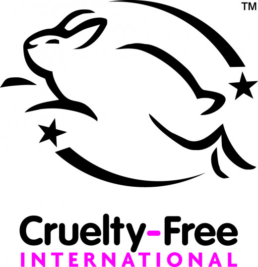 A special logo given to brands that do not participate in animal testing of their cosmetics products