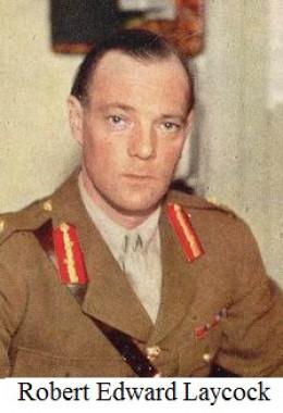Colonel Robert Edward Laycock, O-i-C 'Layforce'
