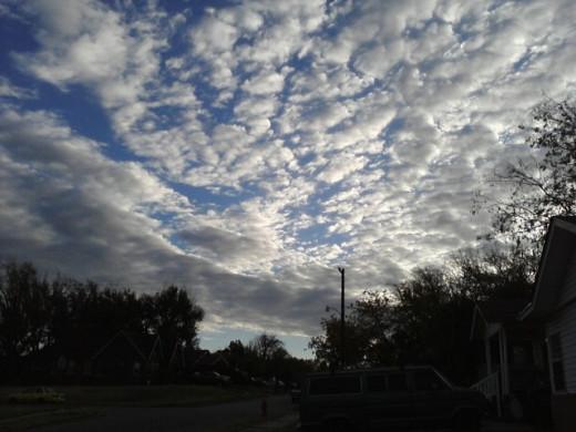 skies of wonder...