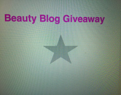 Beauty Blog Giveaway