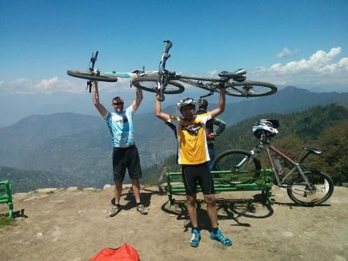MTB Himalaya Riders in Leh , India